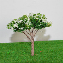 ho scale 4cm Wire Spring Flower Tree made of wire