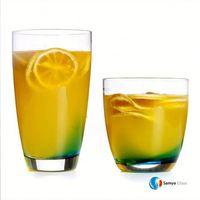 Samyo Custom Glassware Manufacturer 200ml mineral water glass