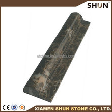 marble wall moulding,marble skirting board cover ,finished stone moulding