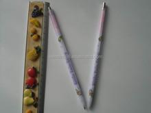 thin and long plastic ballpoint pen brands for girls