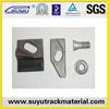 Railway materials QT500-7 cast iron clamp plates for sales