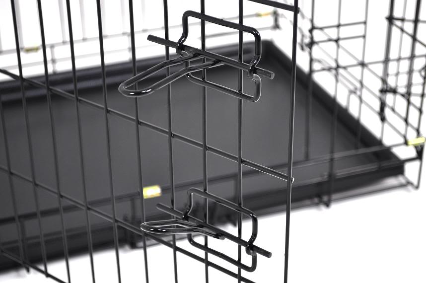 stainless steel welded wire mesh pet dog kennel carrier cage