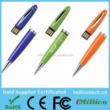 cheap bulk USB pen flash drive memory ,otg ballpen USB pen shape flash stick,Free samples! USB 2.0 pen flash drive