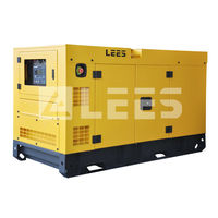 16 kva 60Hz 3 phase home use silent type diesel generator