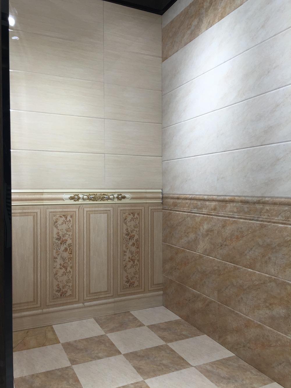 300x600 int rieur salle de bains mur et plancher de for Carreaux ceramique salle de bain