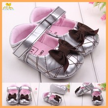 Best selling beautiful leather baby dress shoes for girl