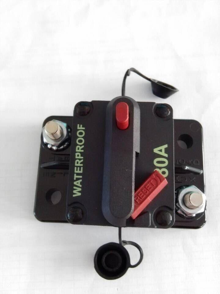 100 Amp 12v Volt Dc Low Voltage Circuit Breaker For Car