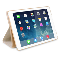 High quality PU flip leather case cover for IPAD Air