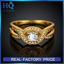Popular useful gold ring 585