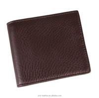 8056C JMD Fashion Genuine Leather Coffee Men's Wallet Money Clip