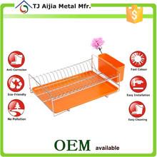 Kitchen Storage 1 Tier Metal Wire Dish Drainer
