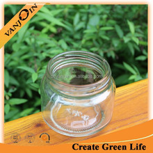 Clear Glass Jelly Jar And Jam With Twist Off Lid