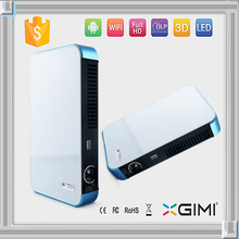 Mini smart mobile phone projector for tv/phone/home theater/stage with built-in bluetooth