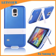 Wholesale Dropship Transparent Ultra Soft TPU Kickstand Back Cover for Samsung Galaxy S5 I9600, Flexible Cases Housing Shell