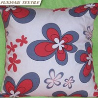 Guaranteed 100% Cotton Printed Flower Chair Outdoor Cushion