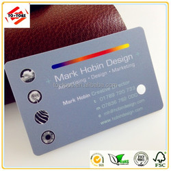 fancy cheap frosted pvc business cards free sample