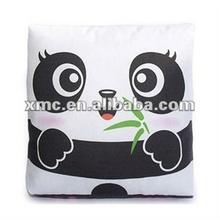 Wholesale latest design printed with Chinese national treasure panda pattern cushion