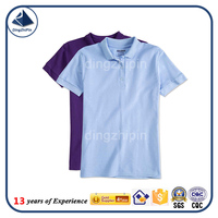 Hot sale slim fit couple polo t- shirt