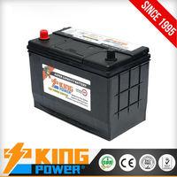 Auto battery for sale N70MF King Power 12V70AH Japanese car