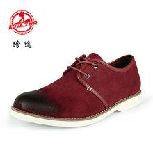2014 nueva colección de alta calidad de los hombres zapatos ocasionales zapatos oxford