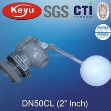 Dn50 2 pulgadas flotador del tanque de agua de la válvula