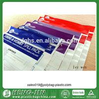 custom printing small ziplock plastic bags