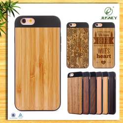 Wholesale High end wooden cell phone cover for iphone 6s