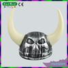 Plastic Molded Viking Helmet Warrior Halloween Hat Devil Horn Hat