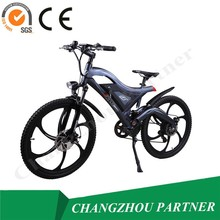 2015 High quality electric bike sport style hidden battery electric bicycle