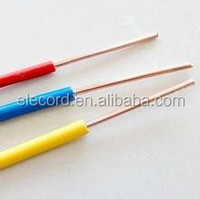 Low Price PVC insulated BVR electrical housing wire and building wire cable