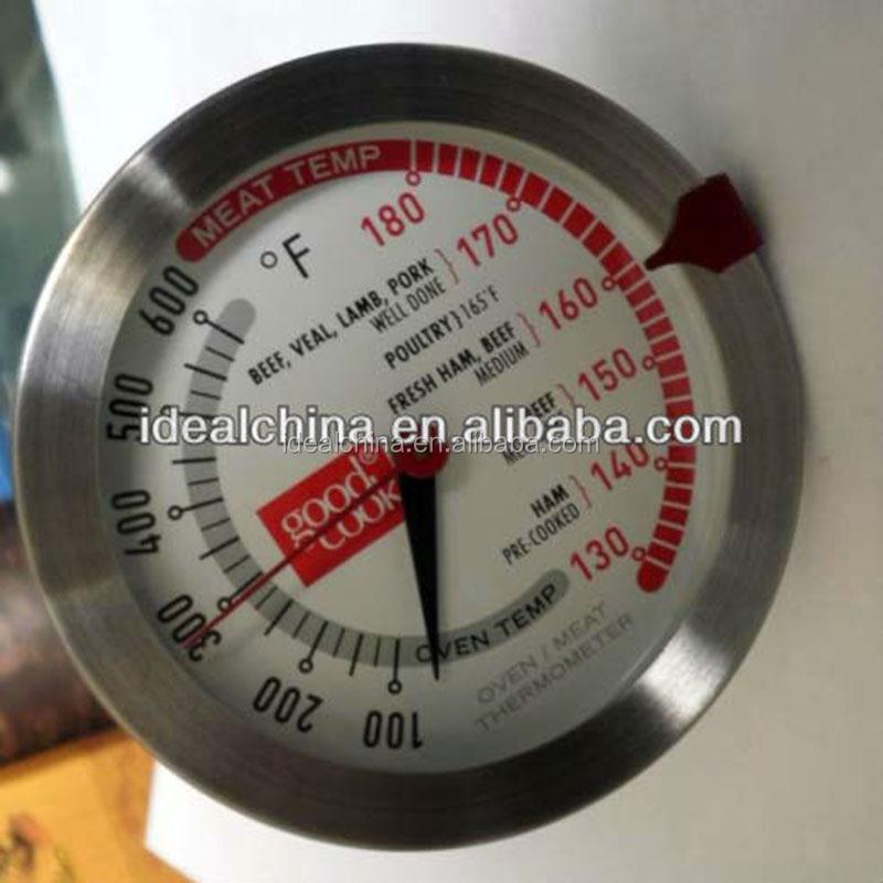 Iyi bir Istikrar Kablosuz Paslanmaz Et Termometre