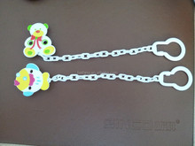 New design!!!Funny fish and bear shape pacifier chain