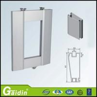 High performance sliding folding shutter doors