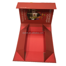 high quality colorful foldable packaging box with magnets clos