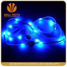 Light up Nylon Led Glowing Shoelaces,Party Consume Accessories Lighted Glowing Shoelaces