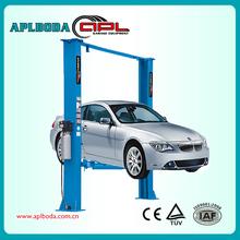 CE Certified Repair Shop cheap / clear floor two pot car lift,Auto 2 Post car jack