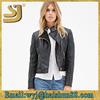 Fashion vintage racing bulk zip 100% polyester new zealand leather motorcycle jacket