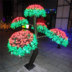 Attractive led Mushroom tree for outdoor christmas decoration