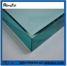 blue flat 6mm tempered glass price