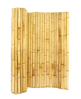Natural color bamboo fence rolll, artificial bamboo fence size 8' by 8' bamboo cane for fence