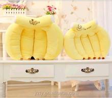 custom sweety banana pillow cushion for decoration
