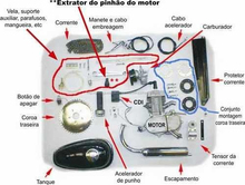 kit de motor 60cc gasolina