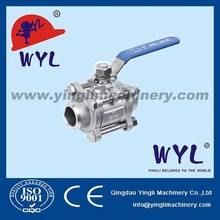 1000wog stainless steel 1pc ball valve bspt npt ansi api iso