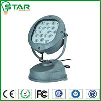 IP67 waterproof outdoor color changing led spotlight