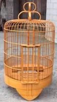 fashionable non toxic long-lasting pest free natrural ecological bamboo bird cage