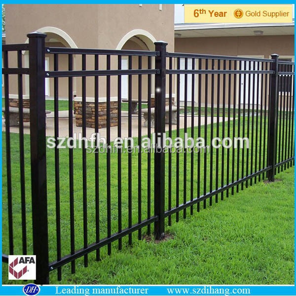 Good prices cheap wrought iron fence from alibaba