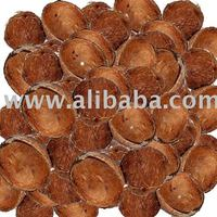 Coconut shell for deriving activated carbon (Charcoal)