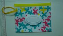 Padrão REACH ftalatos livre de seda EVA PVC bolsa de tecido caso EVA saco de tecido