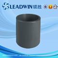 Con Color Gris PVC cople para el Suministro de Agua