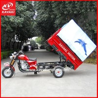 Tuk Tuk Cargo Tricycle Chassis Pedal Cargo Tricycle 200CC For Sale